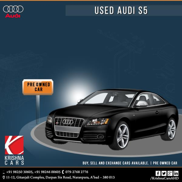 Pre-owned (used) Audi S5 Sportback car for sale in Ahmedabad