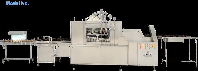 High Speed Linear Bottle Washing Machine