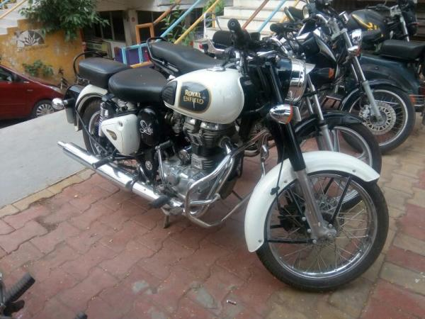 Royal Enfield on rent in ahmedabad