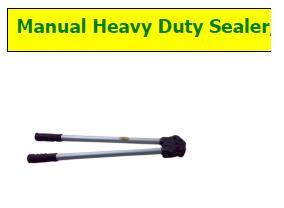 Strap Sealer Manual