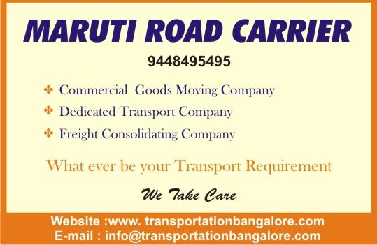 Goods Transporters in Bangalore @ http://www.teampackers.com