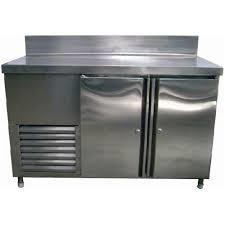 s/s work top chiller & freezer