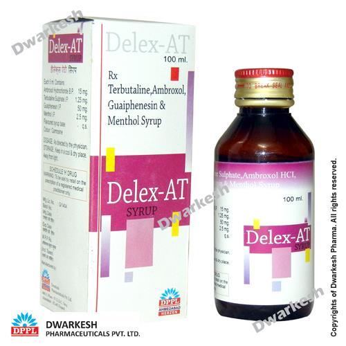 Terbutaline, Ambroxol, Guaiphenesin & Menthol Syrup