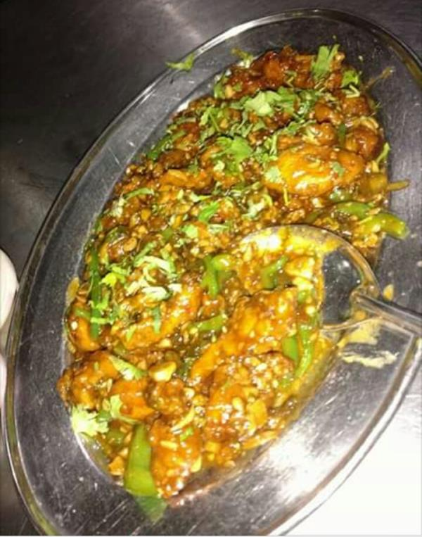 Medium spicy with desi ghee