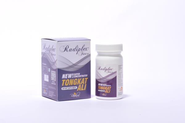 Radiplex Force - Complete Sexual Wellness Capsules with Tongkat Ali Root Extract (1:300) Formula