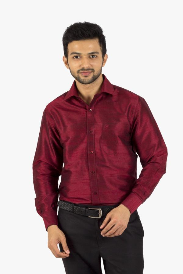 SILK SHIRTS FULL  SLEEVES