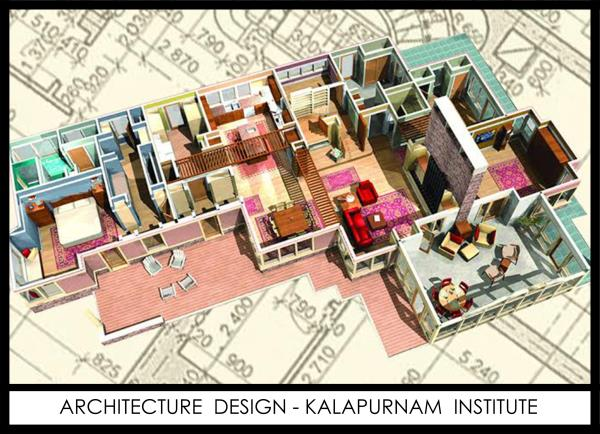 3D Architectural Design Visualization Academy In Ahmedabad