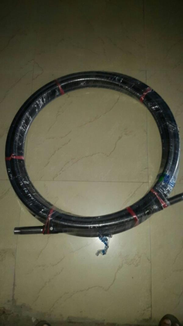 Hdpe  Roll Pipe with S.S Nipple