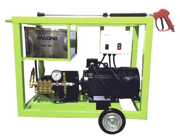Ultra High Pressure Water Jet Cleaner  Impact 500 Bar
