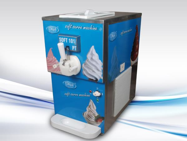 Single Flavour Softy Ice Cream Machine