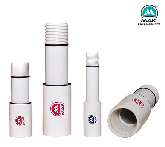COLUMN PIPES FOR SUBMERSIBLE PUMP SETS