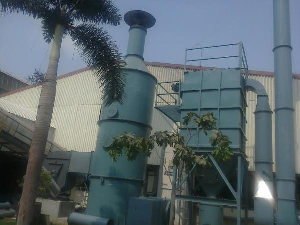 dust collector  and scrubber