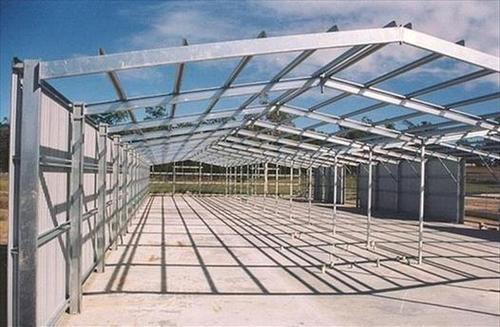 Shed Fabrication Structure