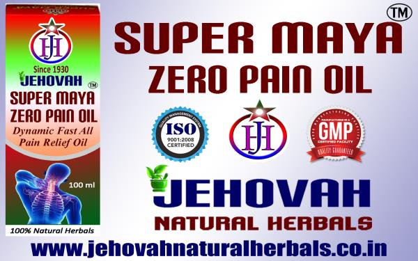 DYNAMIC FAST ALL PAIN RELIEF OIL- SUPER MAYA ZERO PAIN- GMP, ISO CERTIFIED COMPANY