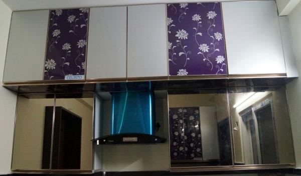 Aluminium Wall cabinet