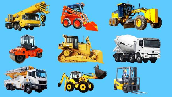 All types of Equipments and Machinery
