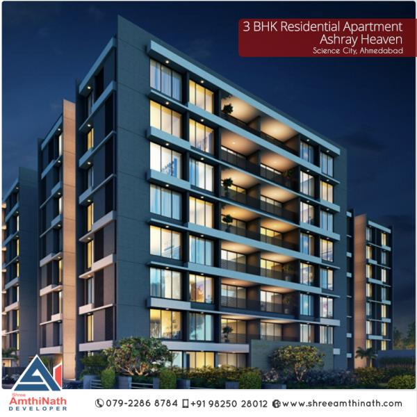 3 BHK Residential Apartment in Science City,Ahmedabad
