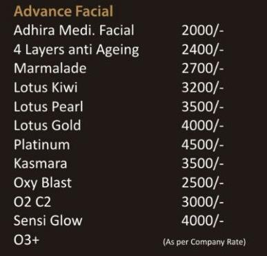 ADVANCE FACIAL PACKAGE