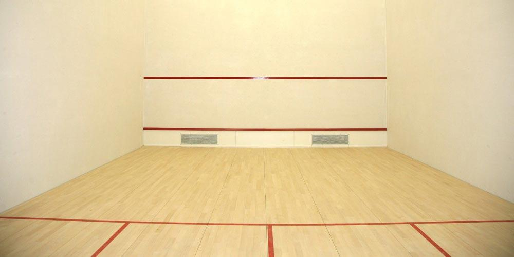 Hard Plaster for Squash Court