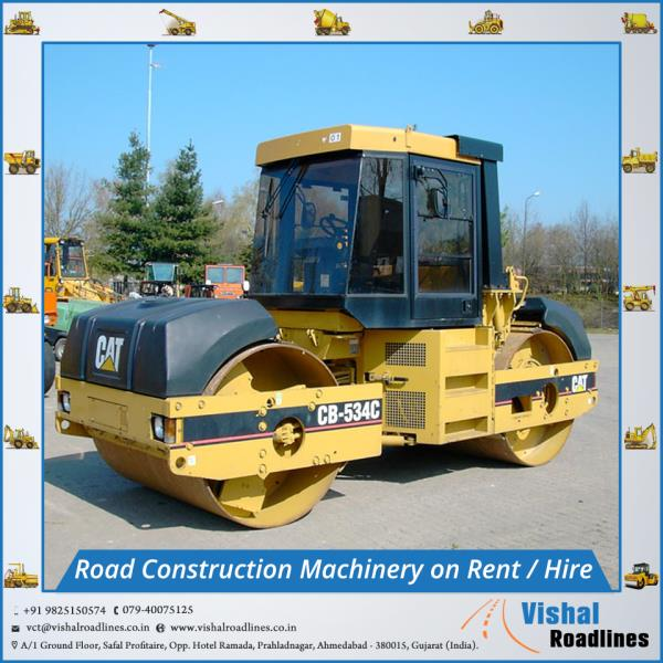 Road Construction Machinery  on Rent (hire) in Ahmedabad, Gujarat, India