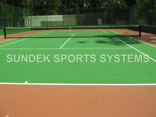 Tennis court Polywin Synthetic Flooring