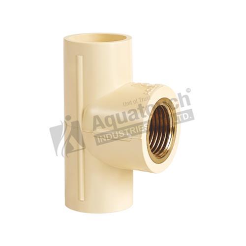 3. C-PVC Brass Tee (CTS as per ASTM D - 2846)