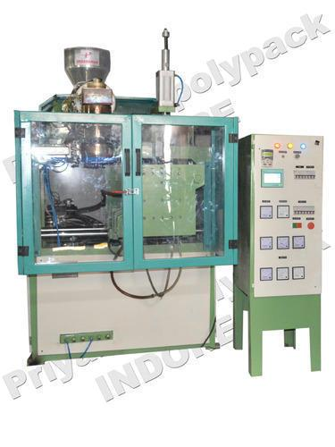 Extrusion Blow Moulding Machine  Extrusion Blow Moulding Machine Approx Price: Rs 4.5 Lakh / Piece We are an acclaimed name engaged in offering our precious clients a superior quality range of Extrusion Blow Moulding Machine. This machine is manufactured using optimum grade raw material and sophisticated technology in synchronization with industry standards. In order to ensure quality, the entire range is rigorously tested on various parameters by our quality controllers. Keeping in mind the diverse requirements of our clients, we provide entire range in various specifications at affordable prices.   Features:  Compact design Trouble-free operation Less power consumption  Additional Information: Port of Dispatch: Nhava sheva Delivery Time: 30 days Packaging Details: wooden packing