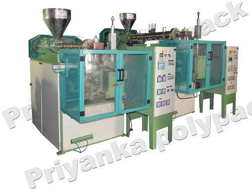HDPE Blow Moulding Machine  HDPE Blow Moulding Machine Approx Price: Rs 5 Lakh / Piece(s) We have marked a distinct and dynamic position in the market by providing a high quality array of HDPE Blow Moulding Machine. Our offered machine is available in a variety of sizes, dimensions and other such specifications to choose from. The offered machine is precisely designed at our highly advanced manufacturing unit following industry defined guidelines. The offered machine can also be availed from us at the industry leading prices.  Features:  Smooth functioning Easy to operate Rugged construction  Key Features:  Micro Processor & Electrical panel Pneumatic & Hydraulic systems Bottle Leakage indicator siren A.C. frequence drive for screq speed Hot cutter Efficient & high speed production Low maintenance and easy to service  Technical Specifications: Technical  Data	UNIT	MACHINE	100ml	250ml	500ml	1000ml	2000ml	5000ml Extruder	MM	SCREW DIAMETER	32	38	42	45	55	65 Electrical	Kg/Hr.	PLASTICIZING CAR	2 - 4	4 - 9	10 - 12	14-17	22.25	30 -35  KW	HEATING LOAD	2.5	3.5	5	6	7.5	9  KW	EXTRUDER DRIVE	1.5	2	3	5	5	7.5  KW	Hydraulic Motor	-	-	2	3	5	5  KW	Connecting Load	4	5.5	10	14	17	21.5 Mould Sizes	VW	MOULD SIZE	100x130	125x160	150x18	170x325	225x4	300x425  MM	MINIMUM MOULD	100	100	125	125	150	150  MM	MOULD OPENING STROKE	100	125	150	170	200	250