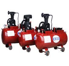 Double Cylinder Single Stage Air Compressor Model DM - 6