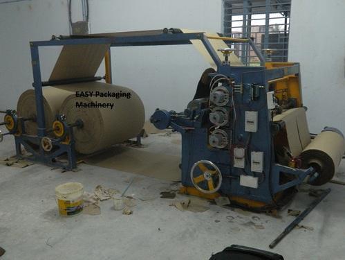 Vertical Type Bearing Mounted Paper Corrugation Machine