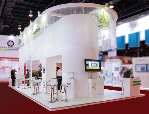 Acrylic Exhibition Stall Fabrication Service
