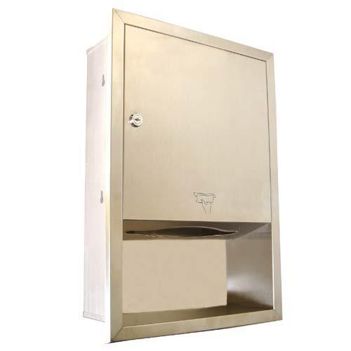 Concealed Paper Towel Dispenser