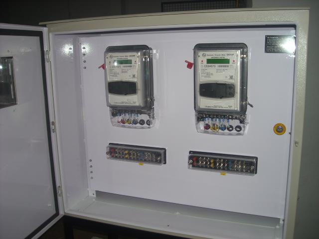 Metering panel with