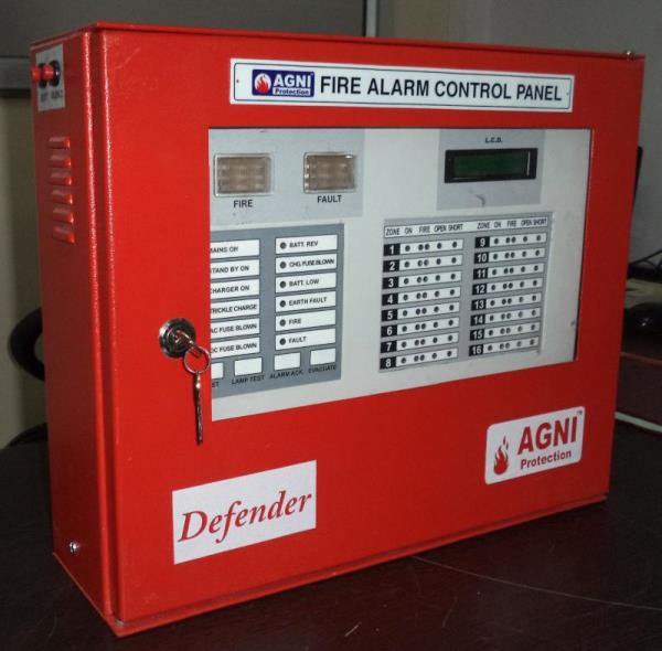 10 Zone Fire Alarm Panel Extended Up to 16 zones