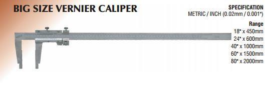 Big Size Vernier Caliper