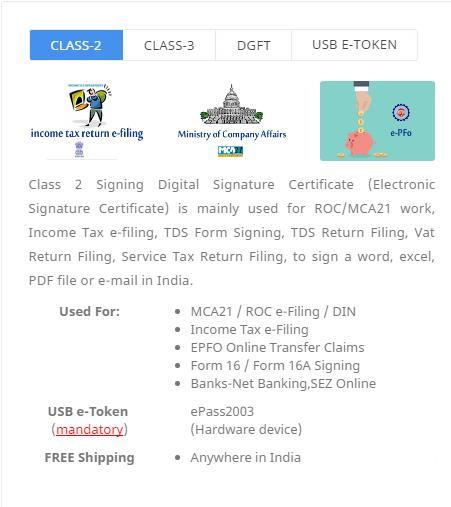 Digital Signature Certificate in Rajkot ,India from Jajal Software