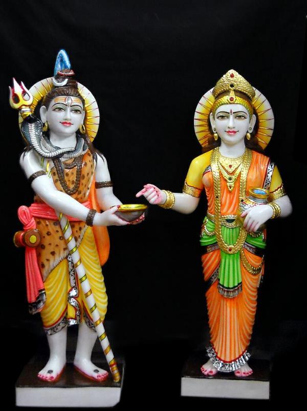 Shiv Ji With Annapurna Devi God Statues 919810030058 In