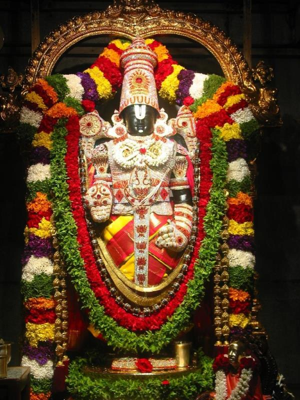 Tirupati Balaji Tour – 02 Nights / 03 Days short break.