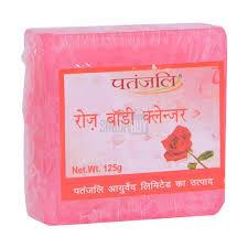 PATANJALI ROSE BODY CLEANSER 125gm