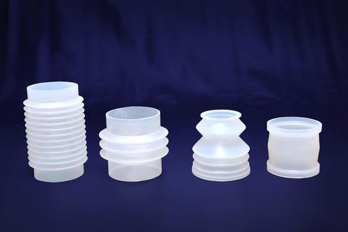 With the support of talented professionals, we are passionately engaged in offering high quality Silicone Bellows. Widely demanded in the industry, the offered bellow is highly used for protecting machine parts from dust and corrosion. Keeping in mind the varied requirements of our precious clients, we make available this bellow in various technical specifications. Moreover, our respected clients can avail this from us at industry leading prices.
