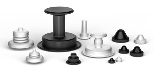 Food & Pharma grade, platinum-cured Silicone is widely accepted in pharmaceutical and biotech applications and is often used throughout the plant. Like all of our diaphragm materials, our Silicone diaphragms meet USP Class VI and FDA 21 CFR 177.2600 standards.