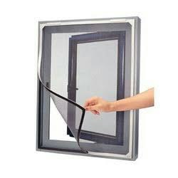 Velcro based nets for windows