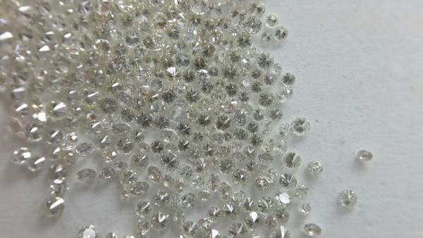 J-K COLOR 2.50 TO 3.30 MM SIZE #VVS #CLARITY #REAL #NATURAL #WHITE #ROUND #CUT #NOT #ENHANCED #LOOSE #DIAMOND