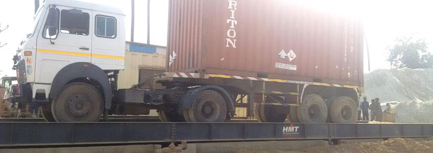 Pit Less Weigh Bridge Manufacturer