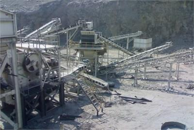 200 TPH Stone Crushing Pl