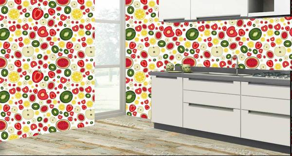 Nutritious Fruits Kitchen Tiles