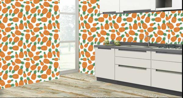 Pineapple Kitchen Tiles