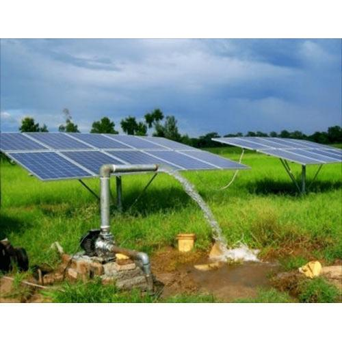 Product Details:ApplicationAgriculture, Submersible, Gardening, Farm Houses, Hotels, Hospitals, Industry, Rural Water Supply, Schools, HostelsPower1 KW to 20 KWPressureHigh Pressure, Low Pressure, Medium PressurePump HeadUp to 250 Mts.We offer World Class Solar Water Pump, with complete package of Pumps with PV Panels. Designing & planning of the Project along with Installation & Comissioning Support. Product Details    Grundfos AC/ DC Water Pumps    World Class PV Panels with GI Structure    Electrical Control Panels    Project Design/Feasibility Support    Installation & Comissioning Support Application:Agriculture, Submersible