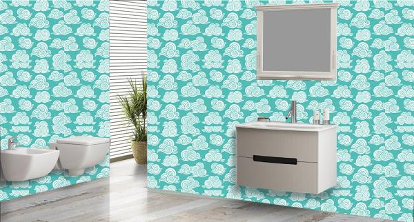 Cloud Bathroom Tiles