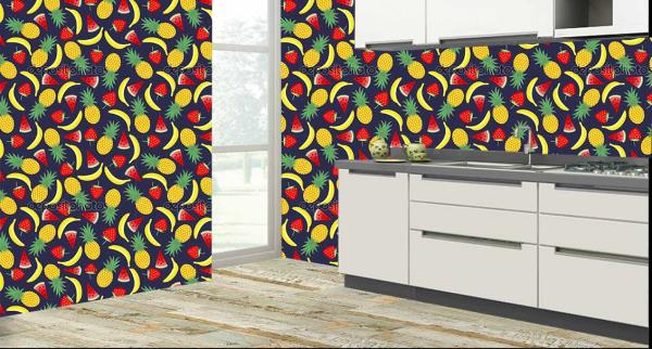 Multi Fruits Customized Kitchen Tiles